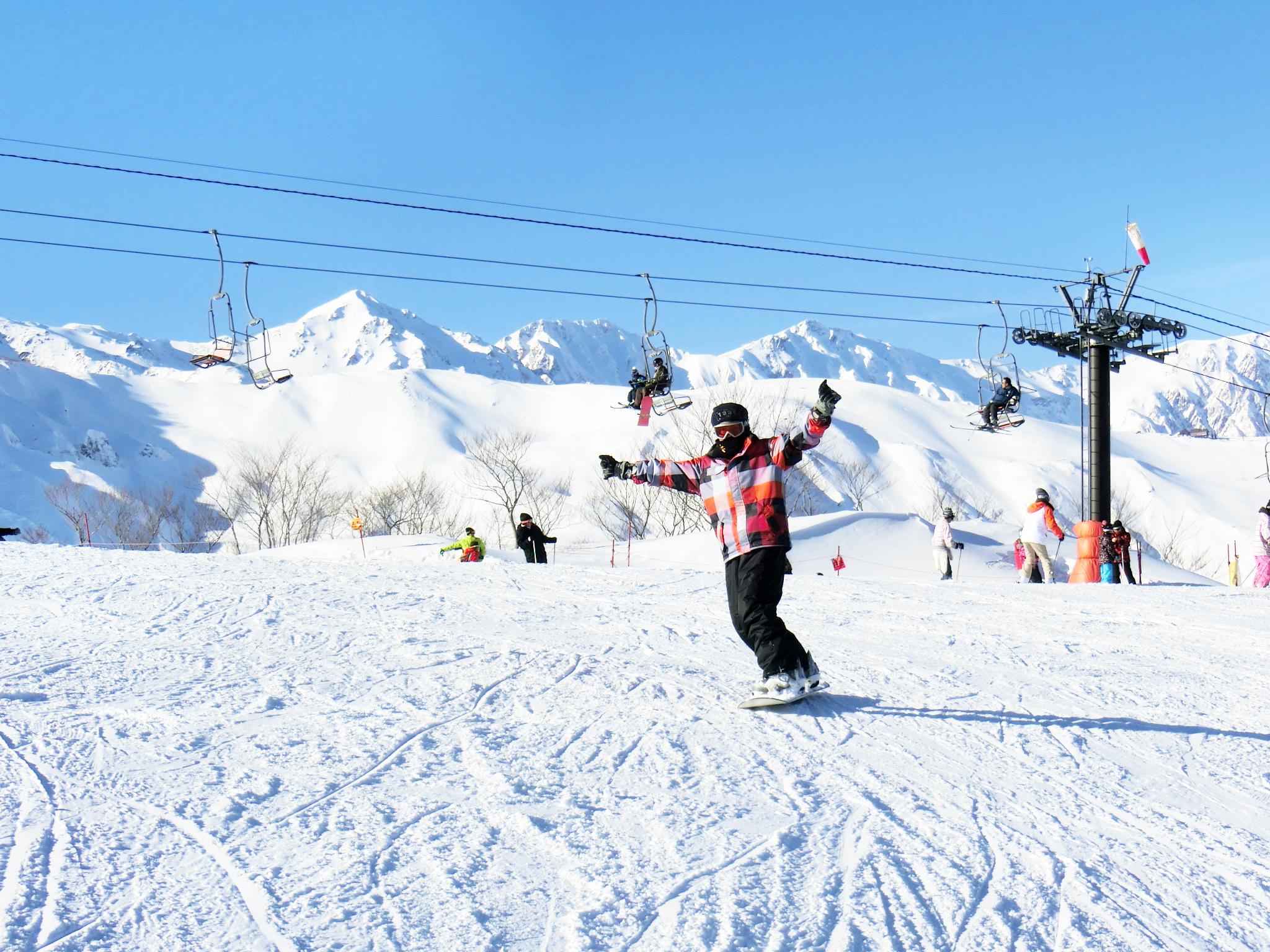 スキーシーズン 全室バストイレ付き(12月1日~3月31日)