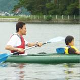 木崎湖カヌー体験&サイクリングパック